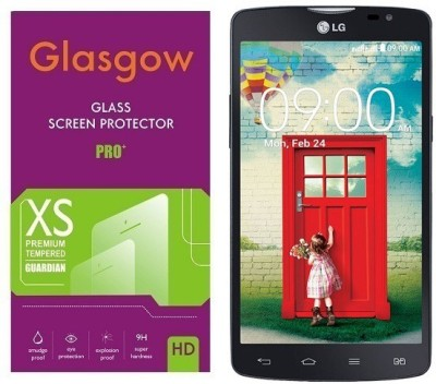 Glasgow Tempered Glass Guard for LG L80(Pack of 1)