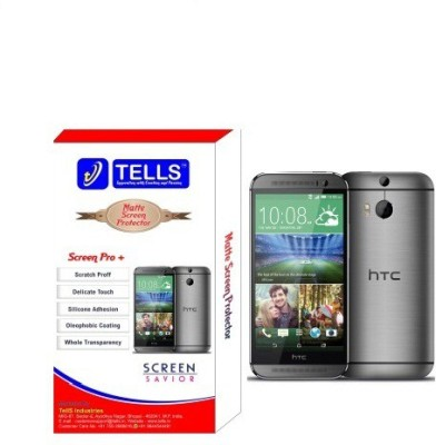 TellS Tempered Glass Guard for HTC Desire One M8