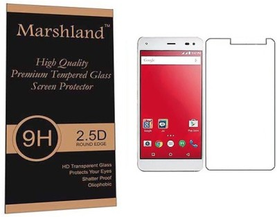 Marshland Tempered Glass Guard for LYF Earth1 Pack of 1 Marshland Screen Guards