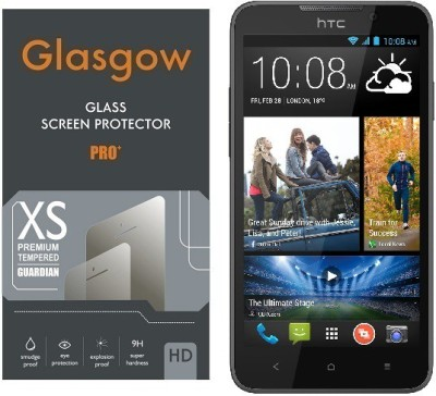 Glasgow Tempered Glass Guard for HTC Desire 516(Pack of 1)