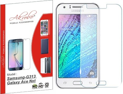 Akrobo Tempered Glass Guard for Samsung-G313 Galaxy Ace Nxt