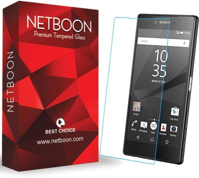 Netboon Tempered Glass Guard for Sony Xperia E4(Pack of 4)