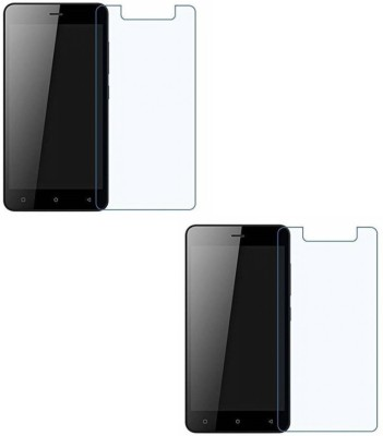 Mudshi Tempered Glass Guard for Reliance LYF Water 7 Pack of 2 Mudshi Screen Guards
