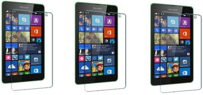 ACM Tempered Glass Guard for Nokia Lumia 520 (Pack of 3)(Pack of 3)