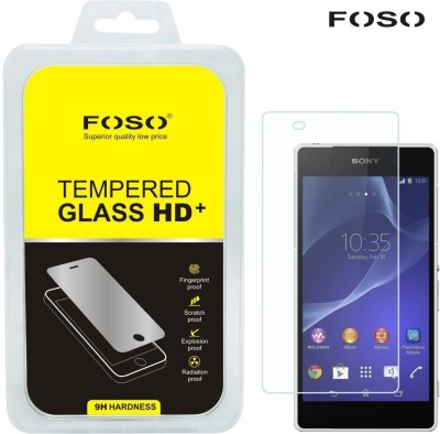 FOSO Tempered Glass Guard for Sony Xperia Z2(Pack of 1)