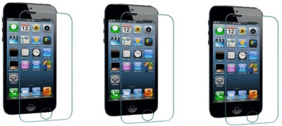 ACM Tempered Glass Guard for Apple Iphone 5 & 5g & 5s (Pack of 3)(Pack of 3)