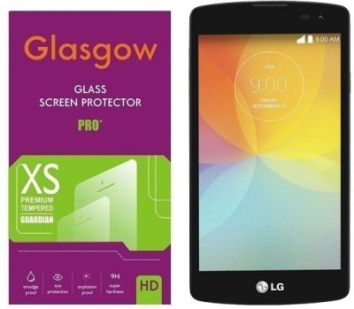 Glasgow Tempered Glass Guard for LG F60 (D392)(Pack of 1)