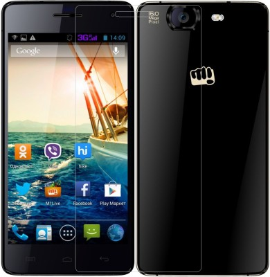 AMETHYST Tempered Glass Guard for Micromax Canvas Knight A350(Pack of 1)
