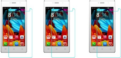 ACM Tempered Glass Guard for Spice Smart Flo Poise Mi-451(Pack of 3)