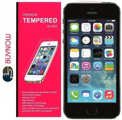 Buynow Tempered Glass Guard for Apple iPhone 5C(Pack of 1)