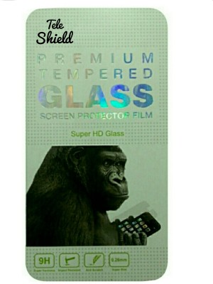 TELESHIELD Tempered Glass Guard for Micromax Canvas Entice A105(Pack of 1)