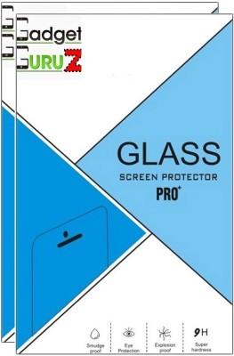 GadgetGuruz Tempered Glass Guard for LG X Screen (Pack Of 2)(Pack of 2)
