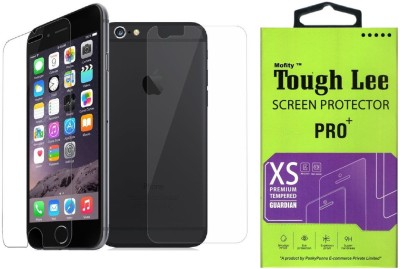 Tough Lee Tempered Glass Guard for Apple Iphone 5s (4 inch, Transparent) (Front and Back)