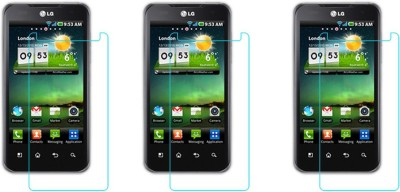 RM WORLD Tempered Glass Guard for LG Optimus 2x(Pack of 1)