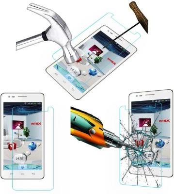 ACM Tempered Glass Guard for Intex Aqua I7(Pack of 1)