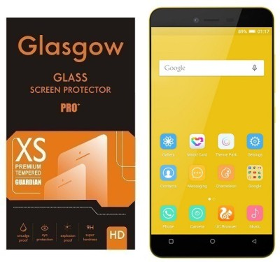 Glasgow Tempered Glass Guard for Gionee Pioneer P5L(Pack of 1)