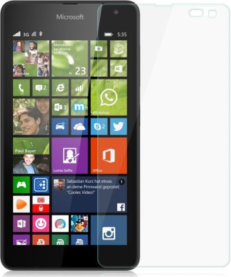 Kolorfame Tempered Glass Guard for Nokia Lumia 535