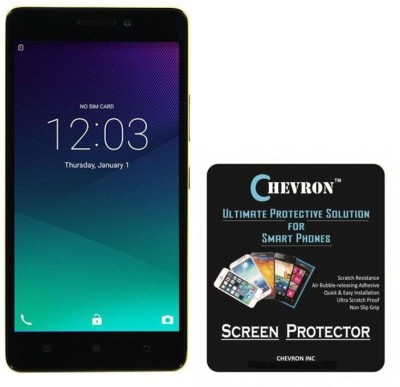 Chevron Tempered Glass Guard for Lenovo K3 Note(Pack of 1), Transparent
