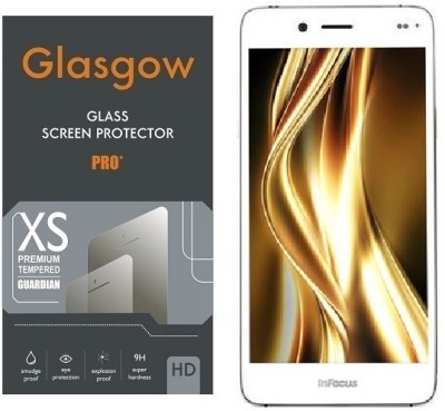 Glasgow Tempered Glass Guard for InFocus Bingo 50+(Pack of 1) at flipkart