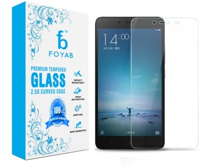 Foyab Tempered Glass Guard for Xiaomi Redmi Note 2