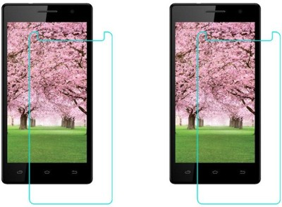ACM Tempered Glass Guard for Intex Aqua Desire Hd(Pack of 2)