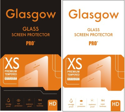 Glasgow Tempered Glass Guard for Micromax Canvas L A108(Pack of 1)