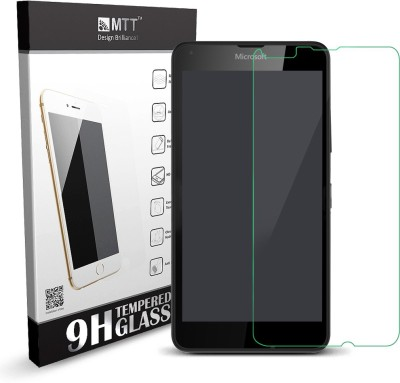 MTT Tempered Glass Guard for Microsoft Lumia 640(Pack of 1)