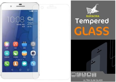 Kavacha Tempered Glass Guard for Honor 6X(Pack of 1)