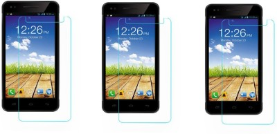 AmericHome Tempered Glass Guard for Micromax Canvas Hue 2 A316