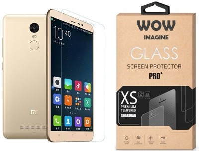 Wow Imagine Tempered Glass Guard for Pro HD+ 9H Hardness 2.5D 0.3mm Toughened Tempered Glass Screen Protector for XIAOMI REDMI NOTE 3(Pack of 1)