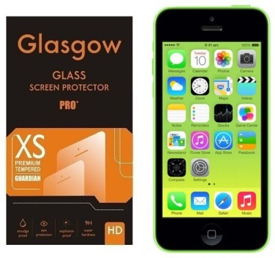 Glasgow Tempered Glass Guard for Apple iPhone 5c(Pack of 1)