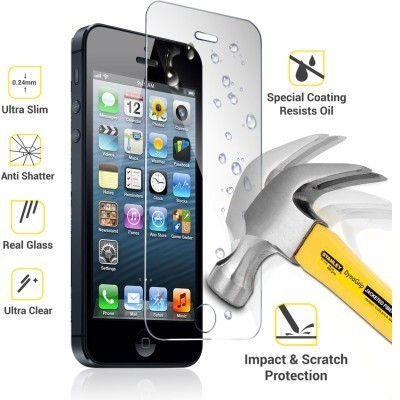 Ultra Clear Tempered Glass Guard for HTC Desire M8(Pack of 1)
