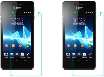 ACM Tempered Glass Guard for Sony Xperia V(Pack of 2)