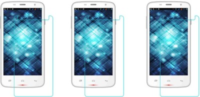 ACM Tempered Glass Guard for Spice Smart Flo Mettle 5x Mi-504(Pack of 3)