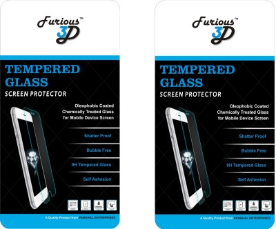 Furious3D Tempered Glass Guard for Mi Redmi 3S(Pack of 2)