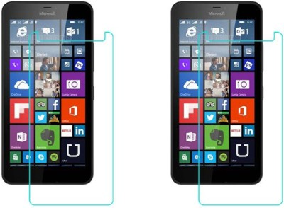ACM Tempered Glass Guard for Microsoft Lumia 640 Xl Lte Dual Sim(Pack of 2)
