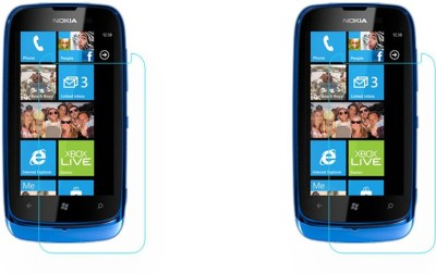 ACM Tempered Glass Guard for Nokia Lumia 610, (Pack of 2)(Pack of 2)