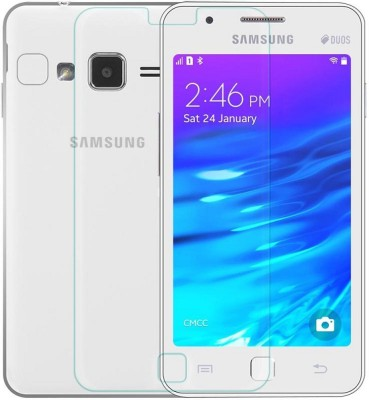 Heartly Tempered Glass Guard for Samsung Z1 SM-Z130H(Pack of 1)