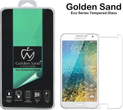 Golden Sand Tempered Glass Guard for Samsung Galaxy E7(Pack of 1)