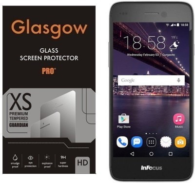Grafins Tempered Glass Guard for Infocus M350(Pack of 1)
