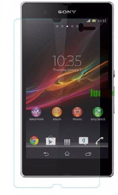 U-Verse Tempered Glass Guard for sony xperia z(Pack of 1)
