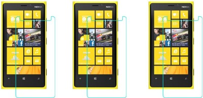 ACM Tempered Glass Guard for Nokia Lumia 920(Pack of 3)