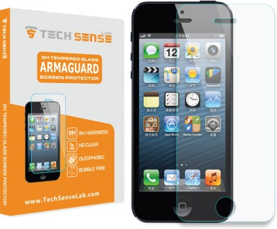 Tech Sense Lab Tempered Glass Guard for Apple iPhone 5, 5C, 5S, SE