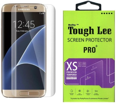 Tough Lee Tempered Glass Guard for Samsung Galaxy S6 Edge Plus (5.7 inch, Transparent)