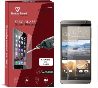 """Shatter Shield Tempered Glass Guard for HTC One E9S (5.5\"""" Inch Display)"""