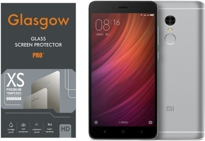 Glasgow Tempered Glass Guard for Mi Redmi Note 4 Pack of 1 Glasgow Screen Guards