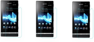 ACM Tempered Glass Guard for Sony Xperia P Lt22i(Pack of 3)