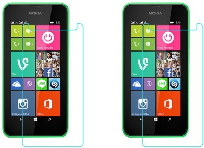 ACM Tempered Glass Guard for Microsoft Lumia 530 Dual Sim(Pack of 2)