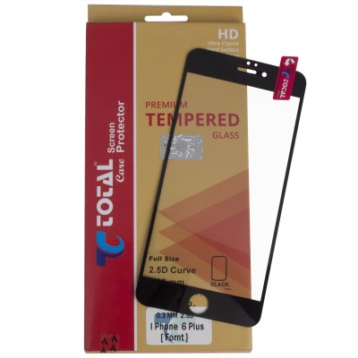Total Care Tempered Glass Guard for Apple iPhone 6 Plus(Pack of 1)