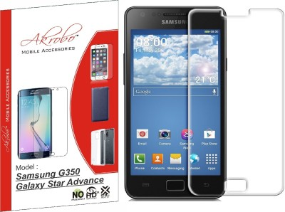 Akrobo Tempered Glass Guard for Samsung G350 Galaxy Star Advance